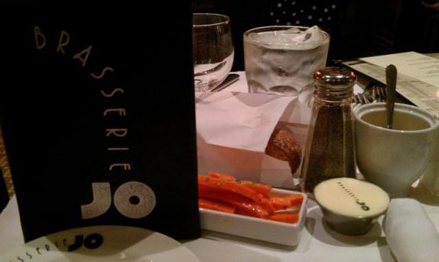 Dinner at Brasserie Jo